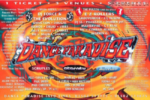Dance Paradise Live Rave Events DJ-Sets DVD Compilation (1993 - 1995)