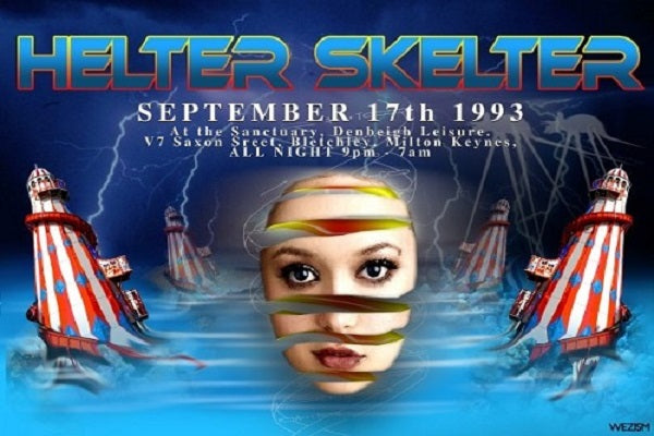 Helter Skelter Complete Live Rave Events DJ-Sets BLU-RAY / 32GB USB-DRIVE / DVD COMPILATION (1993 - 1999)