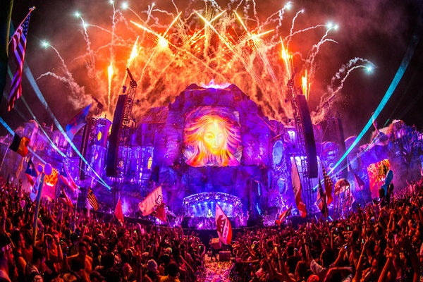 Tomorrowland Events Live Audio & Video DJ-Sets PORTABLE 500GB USB 3 HARD DRIVE (2017 - 2018)