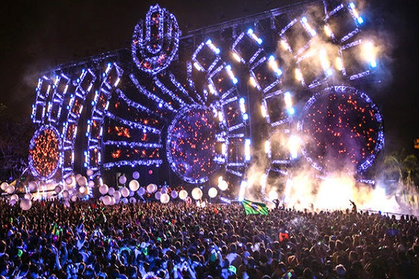 Ultra Music Festival European Events Live Audio & Video DJ-Sets 250GB USB 3 HARD DRIVE (2013 - 2019)