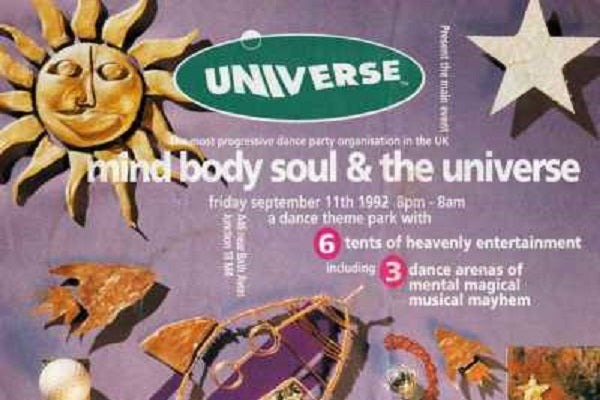 Universe Live Rave Events DJ-Sets DVD Compilation (1992 - 1994)