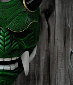 Load image into Gallery viewer, JAPANESE SAMURAI ASSASSIN MASK