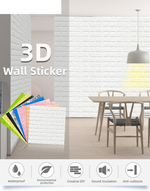 Load image into Gallery viewer, 3D Wall Panels 3D Wallpaper (Size:30.4*27.6 Inch )