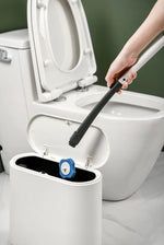 Load image into Gallery viewer, Disposable Toiletwand Cleaning Brush Toilet Brush Holder