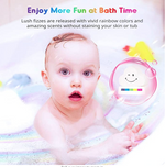 Load image into Gallery viewer, Magic Rainbow Bath Bomb
