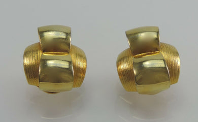 Vintage Clips Ohrringe - Goldmax24