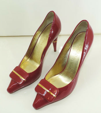 ESCADA Original Damen Pumps / Größe 39 - Goldmax24