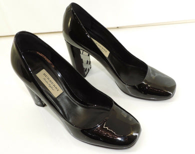 Burberry London Original Damen Pumps Größe 38,5 - Goldmax24