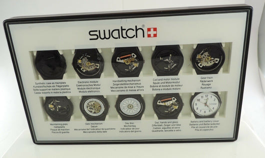 Swatch Uhr Kollektion Set / Sonderedition mit 10 Werken - Goldmax24