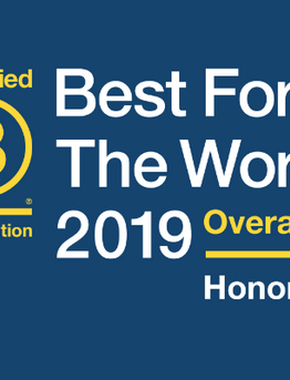 OORR Named as a BCorp 'Best For The World' Honoree