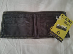 Bi-fold Wallet Recycled Upcycled Bike Tube inside