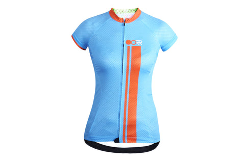2016 Women's OORR Cafe Ultra light Cycling Jersey