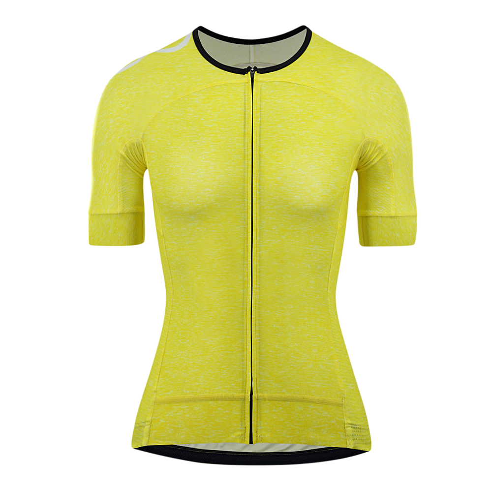 Women's OORR Cafe Pro Cycling Jersey Yellow