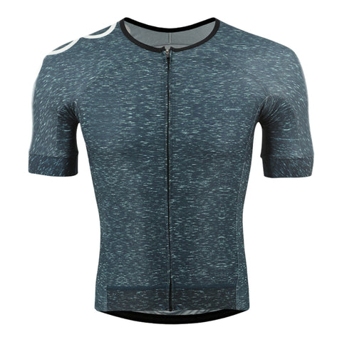 OORR Cafe Pro Cycling Jersey Teal Denim