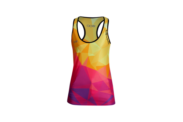 Women's OORR Cafe 'Geo' Tech Tank