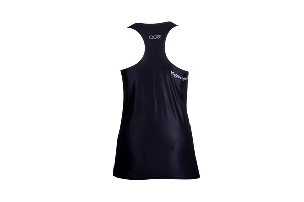 Women's OORR Cafe 'Black' Tech Tank