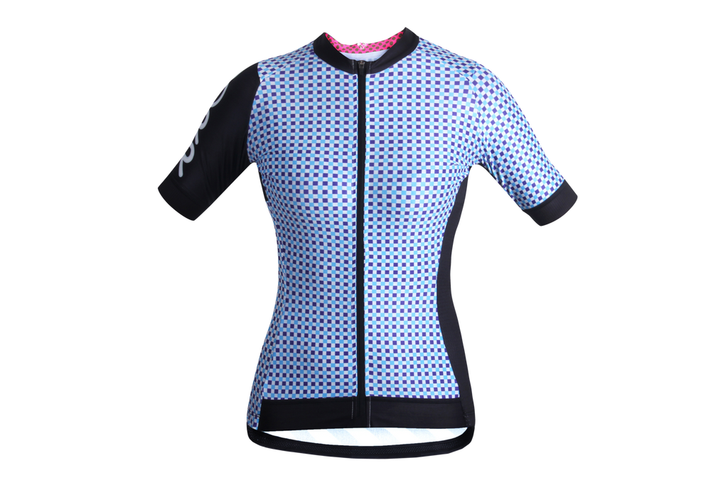 Women's OORR Cafe Pro 'BOORRdroom Check' Cycling Jersey