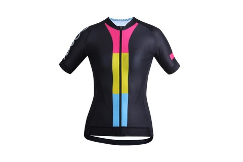 Women's OORR Cafe Pro 'Lollypop' Cycling Jersey (Pre-Order)