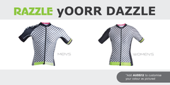 Women's OORR Cafe Pro 'Dazzle' Cycling Jersey