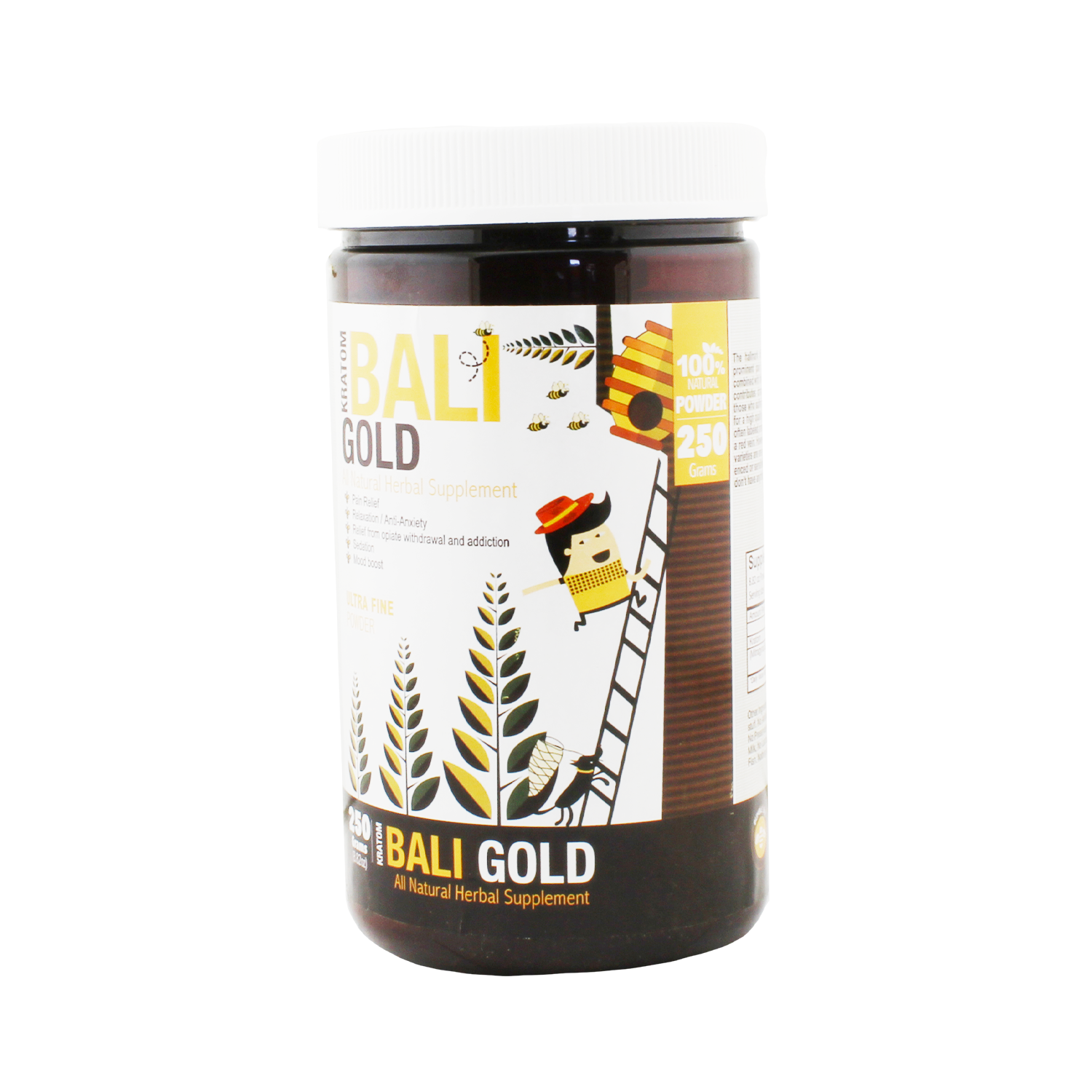 Bumble Bee Bali Gold Kratom (Powder)