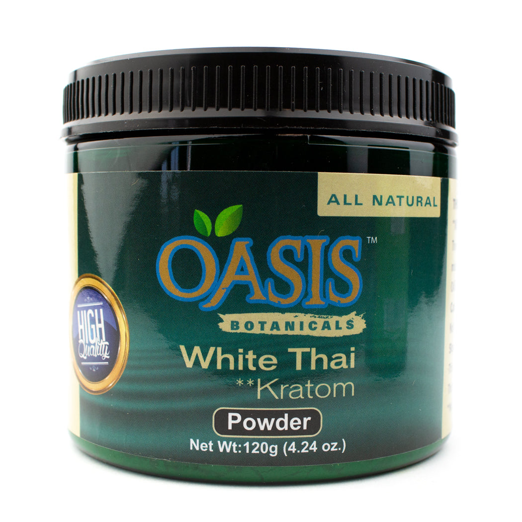 Oasis Botanicals White Thai Kratom (Powder)