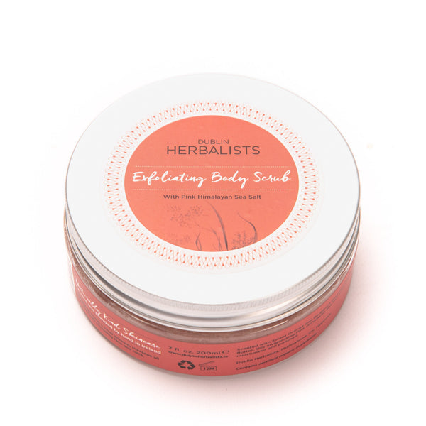 Exfoliating Body Scrub • Pink Himalayan Sea Salt