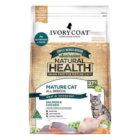 Ivory Coat Mature Cat Grain Free Ocean Fish and Chicken - Pet Food Leaders