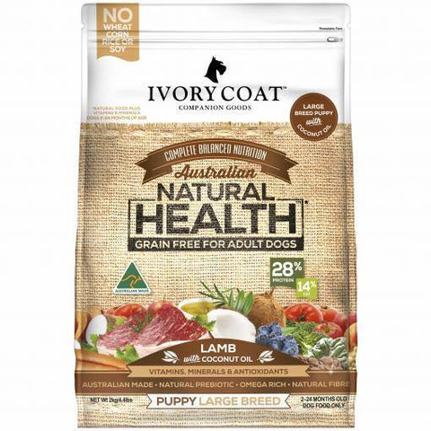 Ivory Coat Grain Free Puppy Large Breed Lamb - Pet Food Leaders