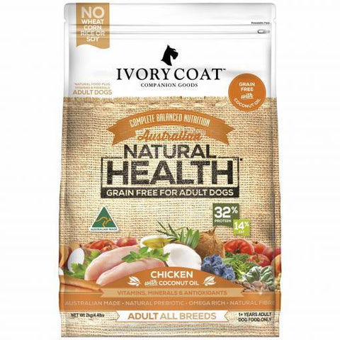 Ivory Coat Grain Free Chicken and Coconut Oil - Pet Food Leaders