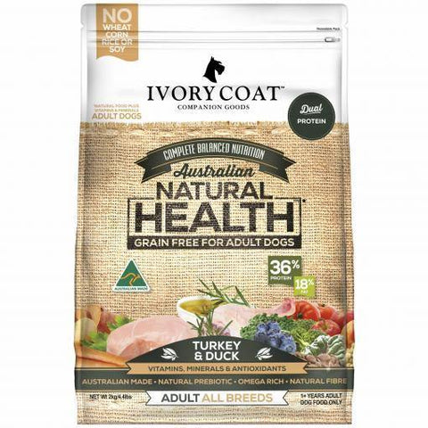 Ivory Coat Grain Free Turkey and Duck - Pet Food Leaders