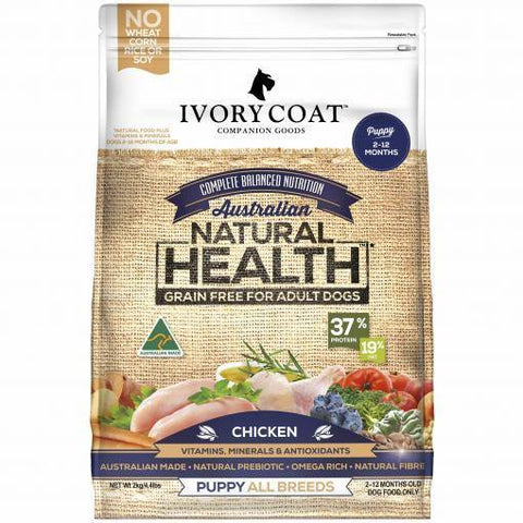 Ivory Coat Grain Free Puppy Chicken - Pet Food Leaders