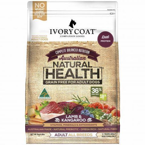 Ivory Coat Grain Free Lamb and Kangaroo - Pet Food Leaders