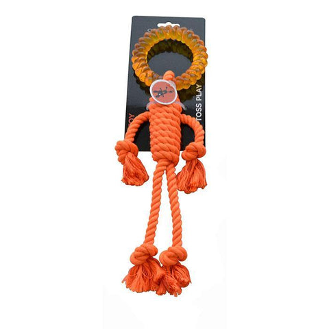 Scream ROPE MAN w/TPR HEAD 30cm Loud Orange