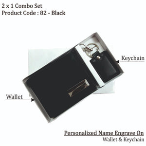 2x1 Key Chain & Wallet Combo