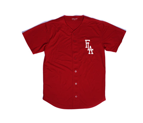 FLA 1st Base Jersey Burgundy