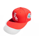World Series FLA Classic Snapback Red