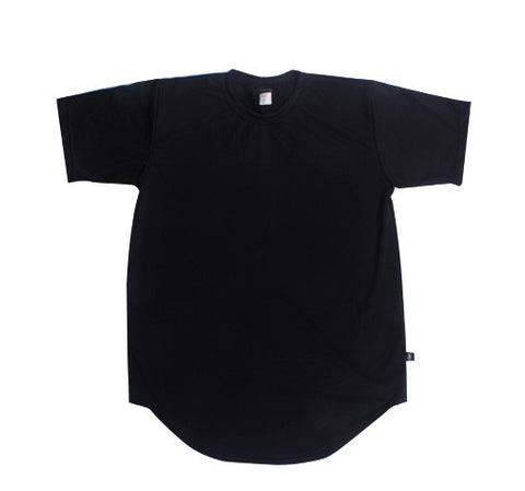 Shaw Scooped Tee - Black