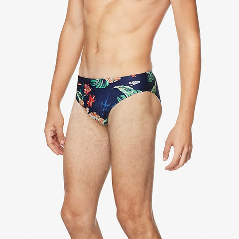 Speedo Men's Printed One Brief
