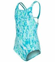 Speedo Girl's High-Neck 1 Piece