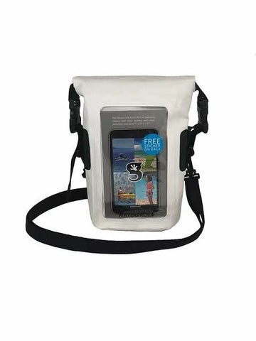 Geckobrand Waterproof Phone Tote