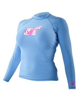 Body Glove Women's Basic Fitted Long Sleeve Rashguard