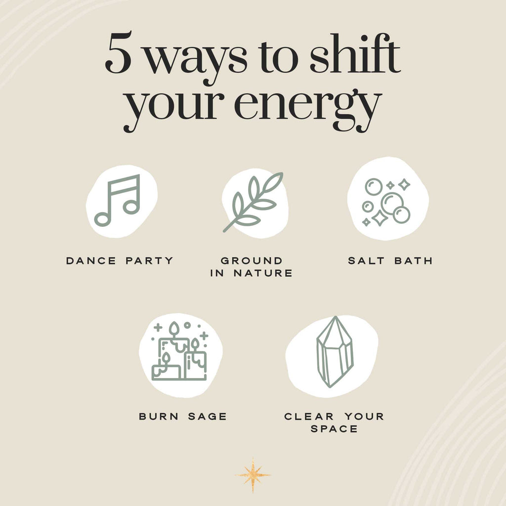 5 ways to shift your energy