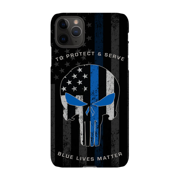 To protect and service police phone case