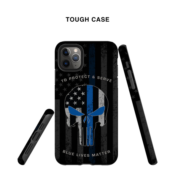 Punisher Thin Blue Line Case
