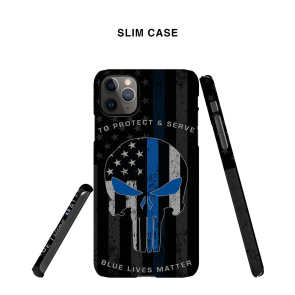police punisher phone case