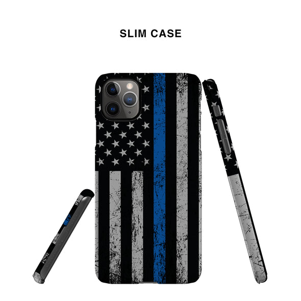 Thin Blue Line Slim Phone Case