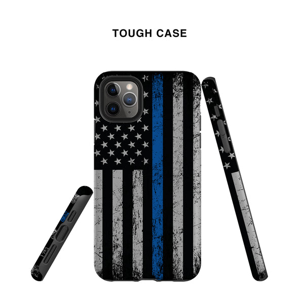 Think Blue Line Police Phone Case. Tough yet slim protection.