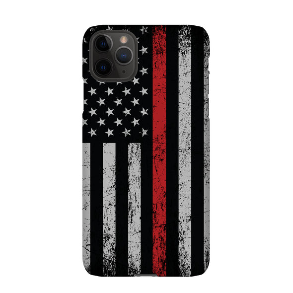 Thin red line firefighter phone case for iPhone and Samsung phones