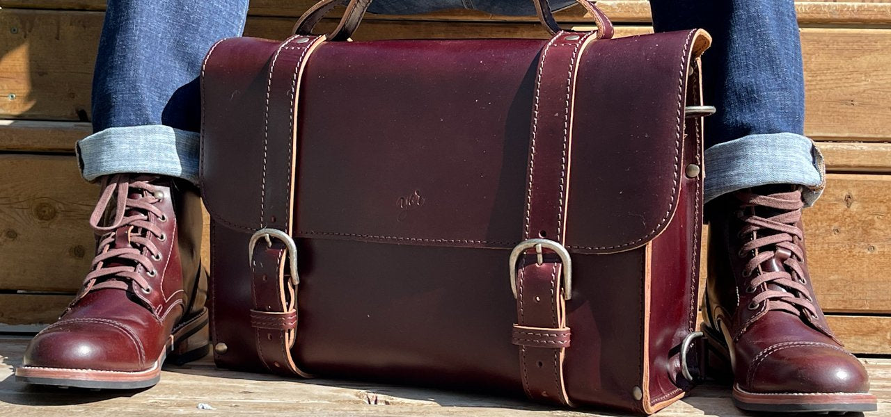 YOR Briefcase, leather briefcase