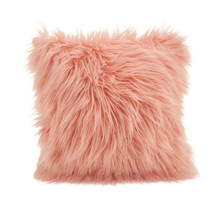 Faux Fur Pillow 18 ""